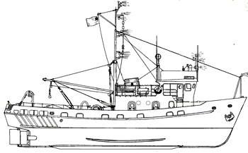 малый рыболовный сейнер 225