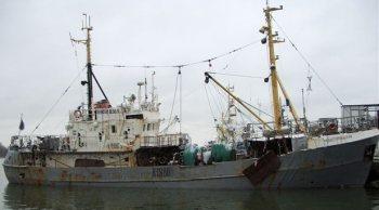 маломерный рыболовный траулер рефрижераторный