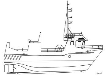 рыболовное судно с большой сетью кроссворд