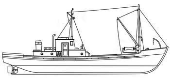 средний рыболовный бот срб