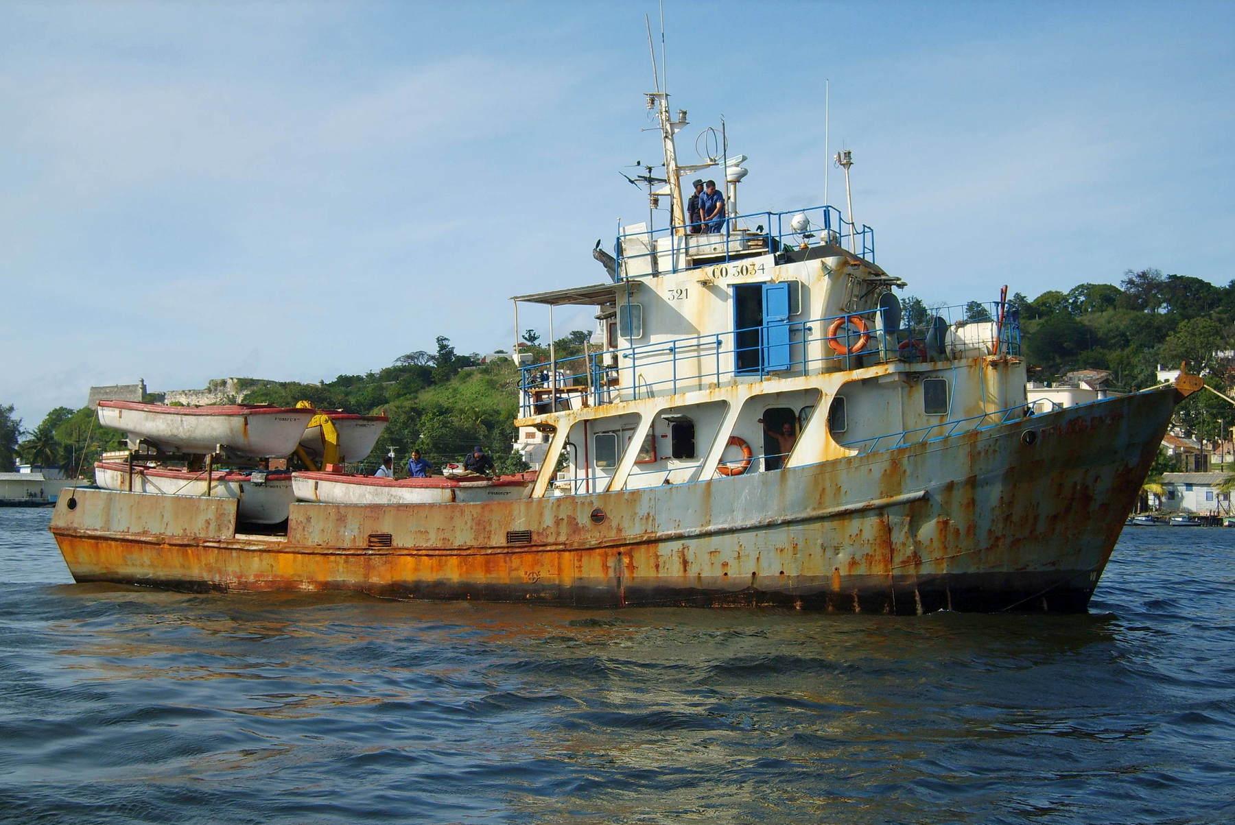 морское рыболовное судно цена