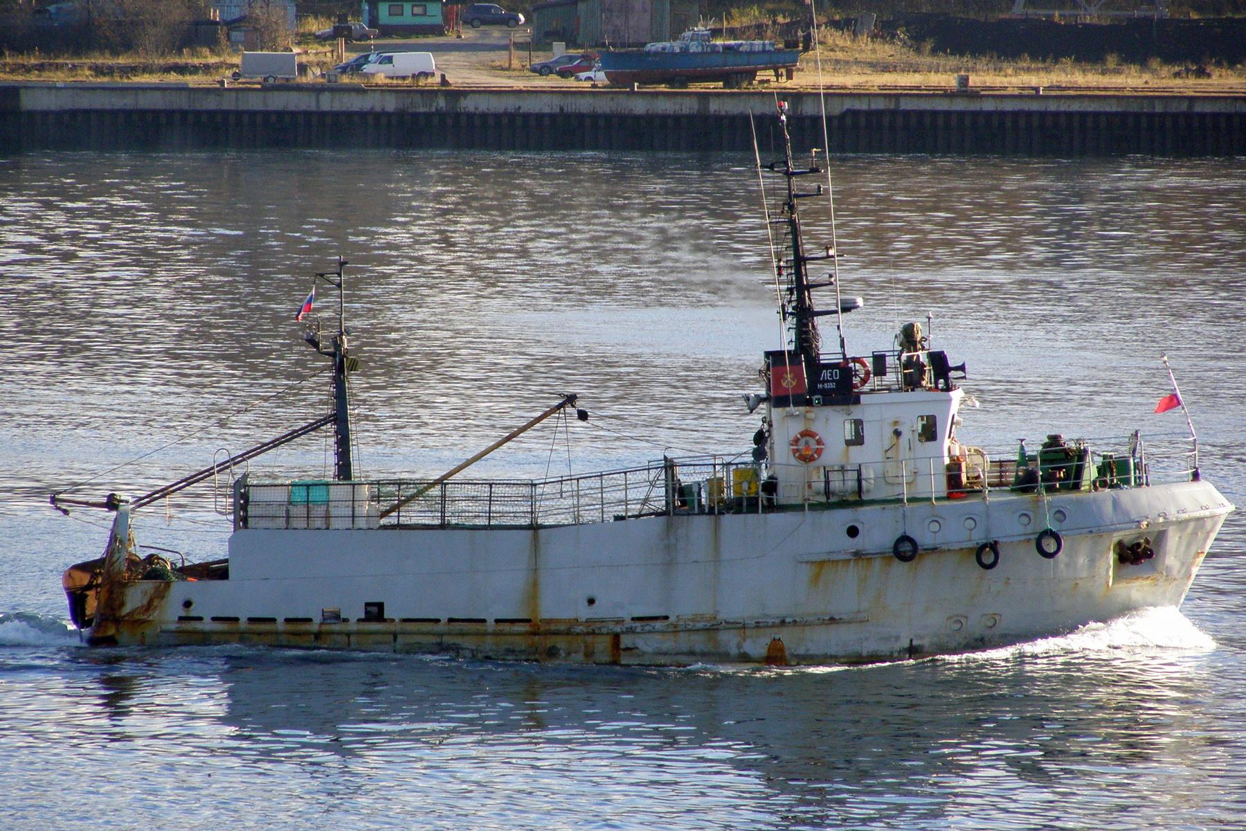 рыболовное судно балтика
