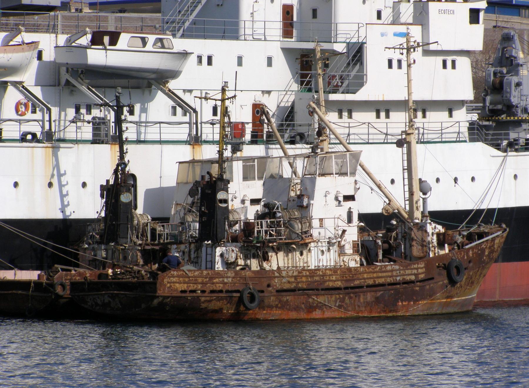 рыбацкое судно название